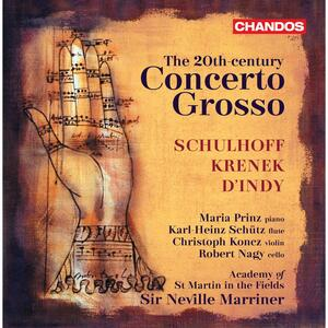 The 20th Century Concerto Grosso - CD Audio di Academy of St. Martin in the Fields
