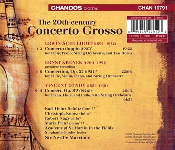 The 20th Century Concerto Grosso - CD Audio di Academy of St. Martin in the Fields - 2