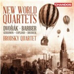 New World Quartet - CD Audio di Brodsky Quartet