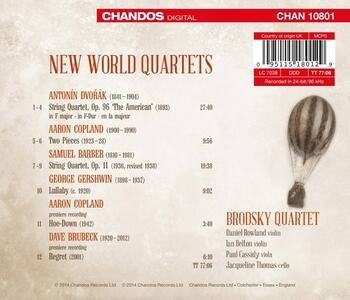 New World Quartet - CD Audio di Brodsky Quartet - 2