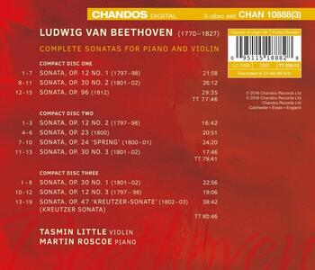 Sonate per Violino e Pianoforte - CD Audio di Ludwig van Beethoven - 2