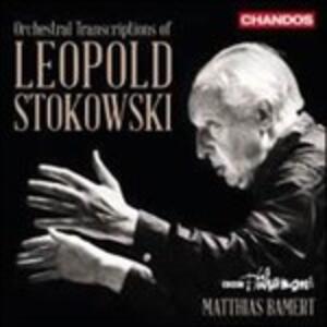 L'arte della trascrizione di Leopold Stokowski - CD Audio di Leopold Stokowski