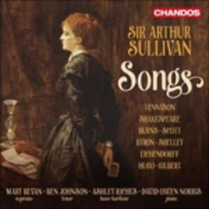 Songs - CD Audio di Arthur Sullivan