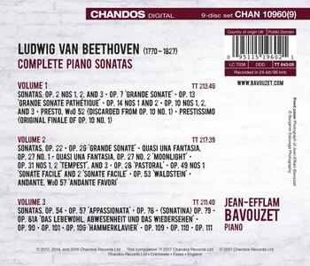 Sonate per pianoforte complete - CD Audio di Ludwig van Beethoven,Jean-Efflam Bavouzet - 2