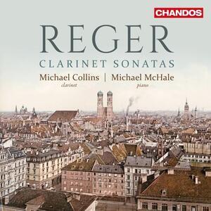 Sonate per Clarinetto - CD Audio di Max Reger