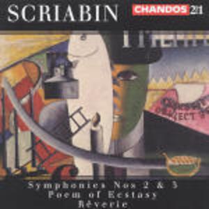 Sinfonie n.2, n.5 - Il poema dell'estasi - Rêverie - CD Audio di Alexander Nikolayevich Scriabin