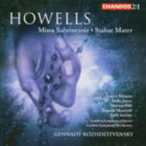 Missa Sabrinensis - Stabat Mater - CD Audio di Herbert Howells