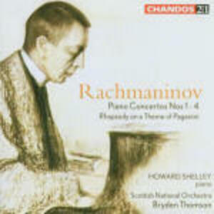 Concerti per pianoforte completi - CD Audio di Sergej Vasilevich Rachmaninov,Royal Scottish National Orchestra,Bryden Thomson,Howard Shelley