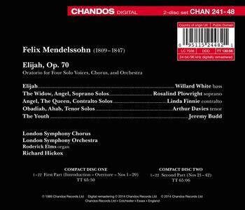 Elijah - CD Audio di Felix Mendelssohn-Bartholdy - 2