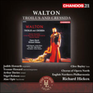 Troilus and Cressida - CD Audio di William Walton,Richard Hickox,English Northern Philharmonia