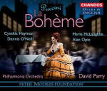 La Bohème - CD Audio di Giacomo Puccini,Philharmonia Orchestra,David Parry,Marie McLaughlin,Dennis O'Neill,Cynthia Haymon