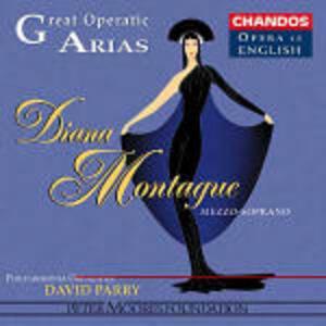 Celebri arie d'opera - CD Audio di Diana Montague