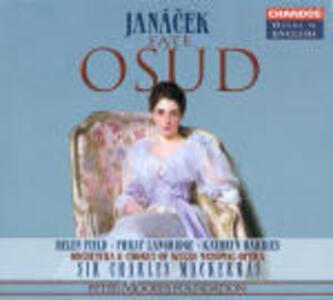 Osud - CD Audio di Leos Janacek,Sir Charles Mackerras,Philip Langridge,Helen Field,Welsh National Opera Orchestra