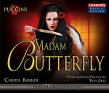 Madame Butterfly - CD Audio di Giacomo Puccini,Philharmonia Orchestra,Yves Abel,Cheryl Barker