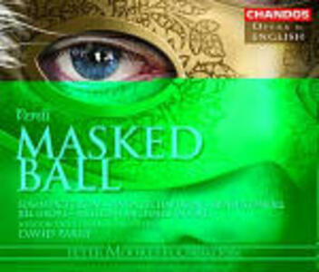 Un ballo in maschera - CD Audio di Giuseppe Verdi,London Philharmonic Orchestra,David Parry,Dennis O'Neill,Susan Patterson