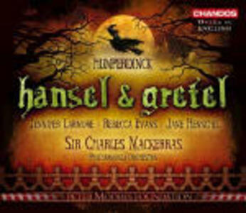 Hänsel & Gretel - CD Audio di Engelbert Humperdinck,Sir Charles Mackerras,Philharmonia Orchestra,Jennifer Larmore,Rebecca Evans