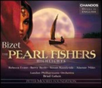 I pescatori di perle (Les pêcheurs de perles) - CD Audio di Georges Bizet,London Philharmonic Orchestra,Brad Cohen
