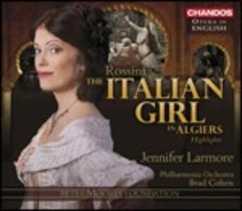 L'Italiana in Algeri - CD Audio di Gioachino Rossini,Philharmonia Orchestra,Jennifer Larmore,Alastair Miles,Brad Cohen