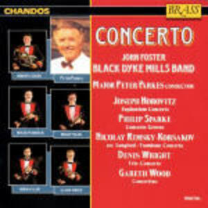 Concerto - CD Audio di John Foster Black Dyke Mills Band