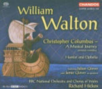 Cristoforo Colombo (Christopher Columbus) - SuperAudio CD ibrido di William Walton,Richard Hickox
