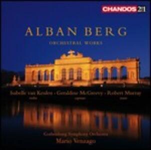Opere orchestrali - SuperAudio CD ibrido di Alban Berg