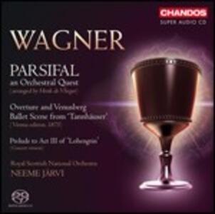 Brani orchestrali da Parsifal - SuperAudio CD ibrido di Richard Wagner,Neeme Järvi,Royal Scottish National Orchestra