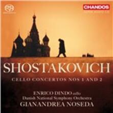 Concerti per violoncello n.1, n.2 - SuperAudio CD ibrido di Dmitri Shostakovich,Enrico Dindo,Gianandrea Noseda