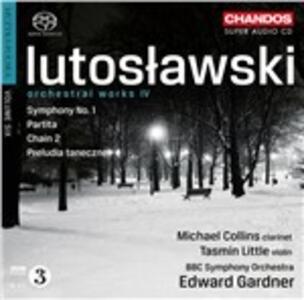 Musica orchestrale vol.4 - SuperAudio CD ibrido di Witold Lutoslawski,BBC Symphony Orchestra,Edward Gardner