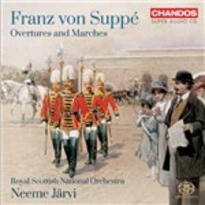 Overtures e marce - SuperAudio CD ibrido di Franz Von Suppé,Neeme Järvi,Royal Scottish National Orchestra