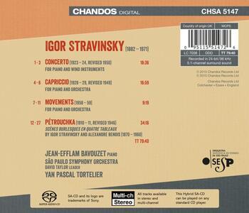 Musica Orchestrale - SuperAudio CD ibrido di Igor Stravinsky - 2