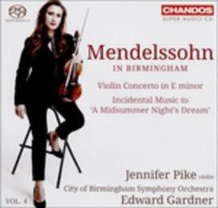 Mendelssohn in Birmingham vol.4 - SuperAudio CD ibrido di Felix Mendelssohn-Bartholdy