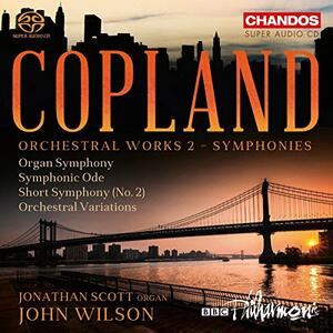 Musica Orchestrale vol.2 - SuperAudio CD di Aaron Copland