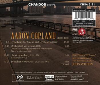 Musica Orchestrale vol.2 - SuperAudio CD di Aaron Copland - 2