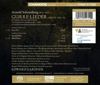 Gurre - SuperAudio CD di Arnold Schönberg - 2