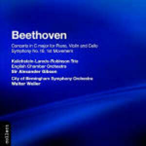 Concerto triplo - Sinfonia n.10 (I movimento) - CD Audio di Ludwig van Beethoven,English Chamber Orchestra,City of Birmingham Symphony Orchestra,Sir Alexander Gibson,Walter Weller