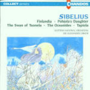 Finlandia - Il cigno di Tuonela - La figlia di Pohjola - Gli Oceanidi - Tapiola - CD Audio di Jean Sibelius,Sir Alexander Gibson