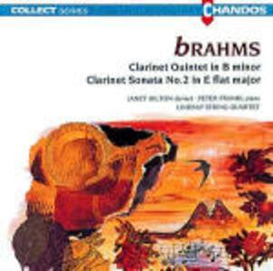 Quintetto per clarinetto op.115 - Sonata per clarinetto n.2 - CD Audio di Johannes Brahms