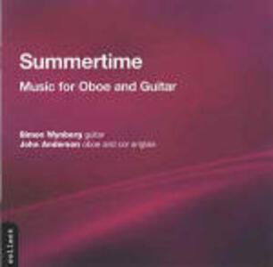 Summertime. Musica per oboe e chitarra - CD Audio