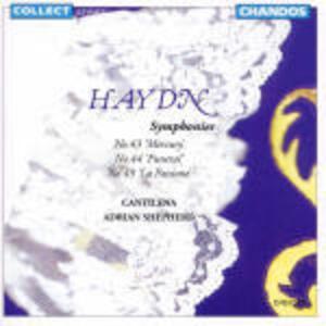 Sinfonie n.43, n.44, n.49 - CD Audio di Franz Joseph Haydn