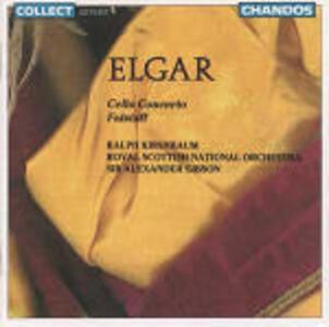 Concerto per violoncello - Falstaff - CD Audio di Edward Elgar,Sir Alexander Gibson,Ralph Kirshbaum,Royal Scottish National Orchestra