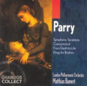 Variazioni sinfoniche - CD Audio di Hubert Parry