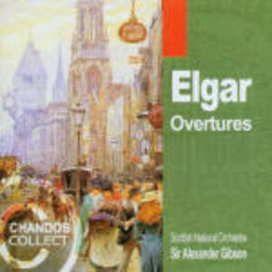 Ouvertures da concerto - CD Audio di Edward Elgar
