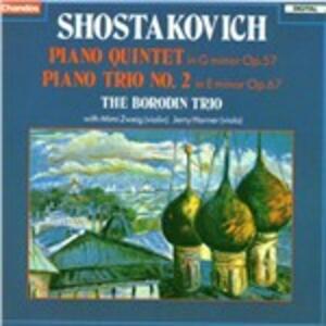 Quintetti per pianoforte - CD Audio di Dmitri Shostakovich