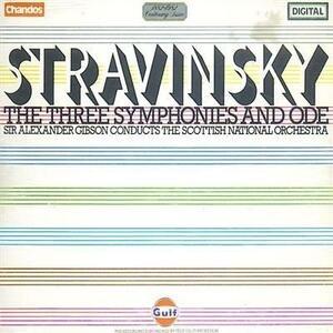Sinfonia in 3 Movimenti - CD Audio di Igor Stravinsky