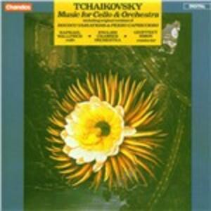 Musica per violoncello - CD Audio di Pyotr Il'yich Tchaikovsky