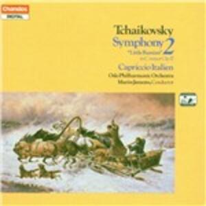 Sinfonia n.2 - Capriccio italiano - CD Audio di Pyotr Il'yich Tchaikovsky