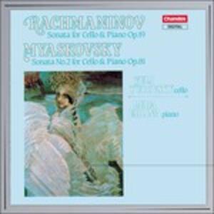 Sonate per violoncello - CD Audio di Sergej Vasilevich Rachmaninov