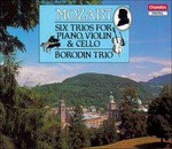 Trii con pianoforte - CD Audio di Wolfgang Amadeus Mozart,Borodin Trio