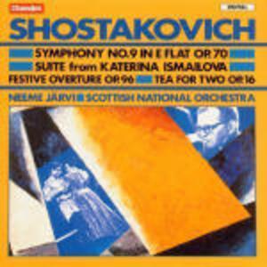 Sinfonia n.9 - CD Audio di Dmitri Shostakovich,Neeme Järvi,Royal Scottish National Orchestra