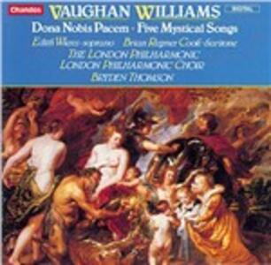 Dona Nobis Pacem - Cinque canzoni mistiche - CD Audio di Ralph Vaughan Williams